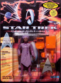 Star Trek Guinan action figure image