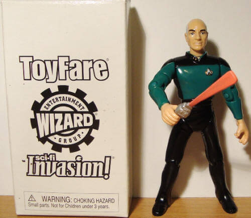 Star Trek Tapestry 2 Picard action figure image