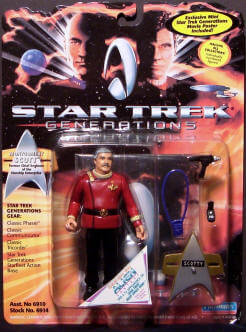 Star Trek Scotty action figure image