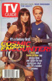 Star Trek TV Guide Xena & Seven of Nine image