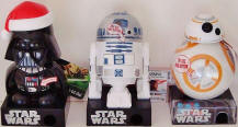 Star Wars candy dispensers image