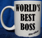 The Office World's Best Boss mug image